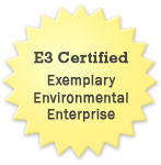 E3 Certified, Exemplary, Environmental, Enterprise
