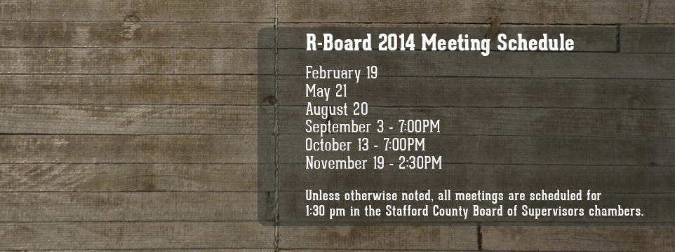 R-Board Meeting