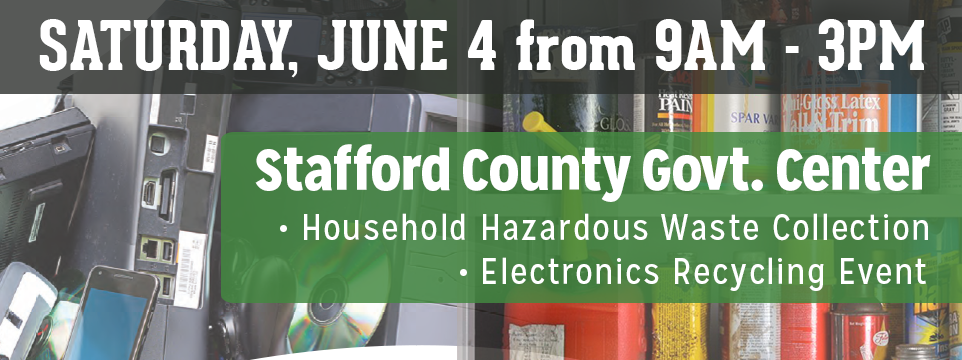 Household Hazardous Waste and E-Waste Collection Day Event