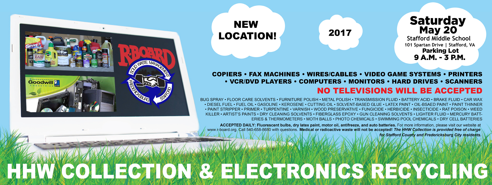 HHW Collection & Electronics Recycling