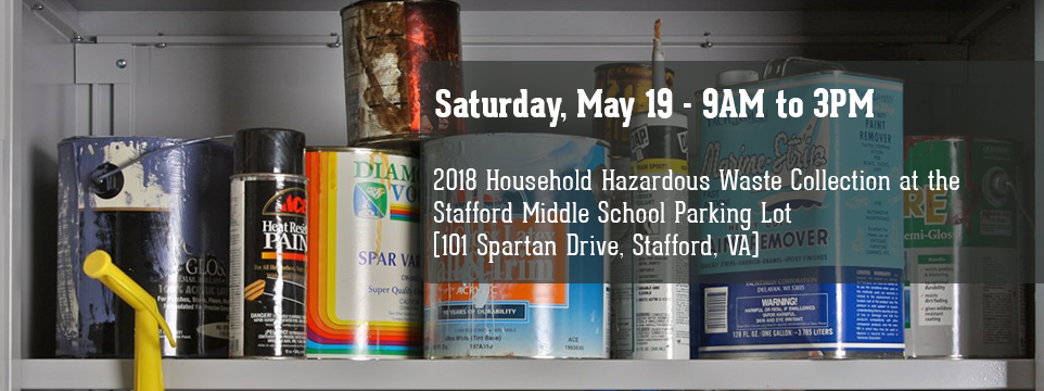 Spring 2018 Hazardous Waste