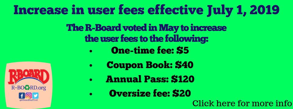 User Fee Update