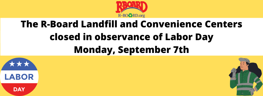 Landfill Closed on Labor Day